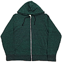 ALTERNATIVE ZIP UP FLEECE HOOD