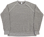 ALTERNATIVE RAGLAN SLEEVE CREW SWEAT